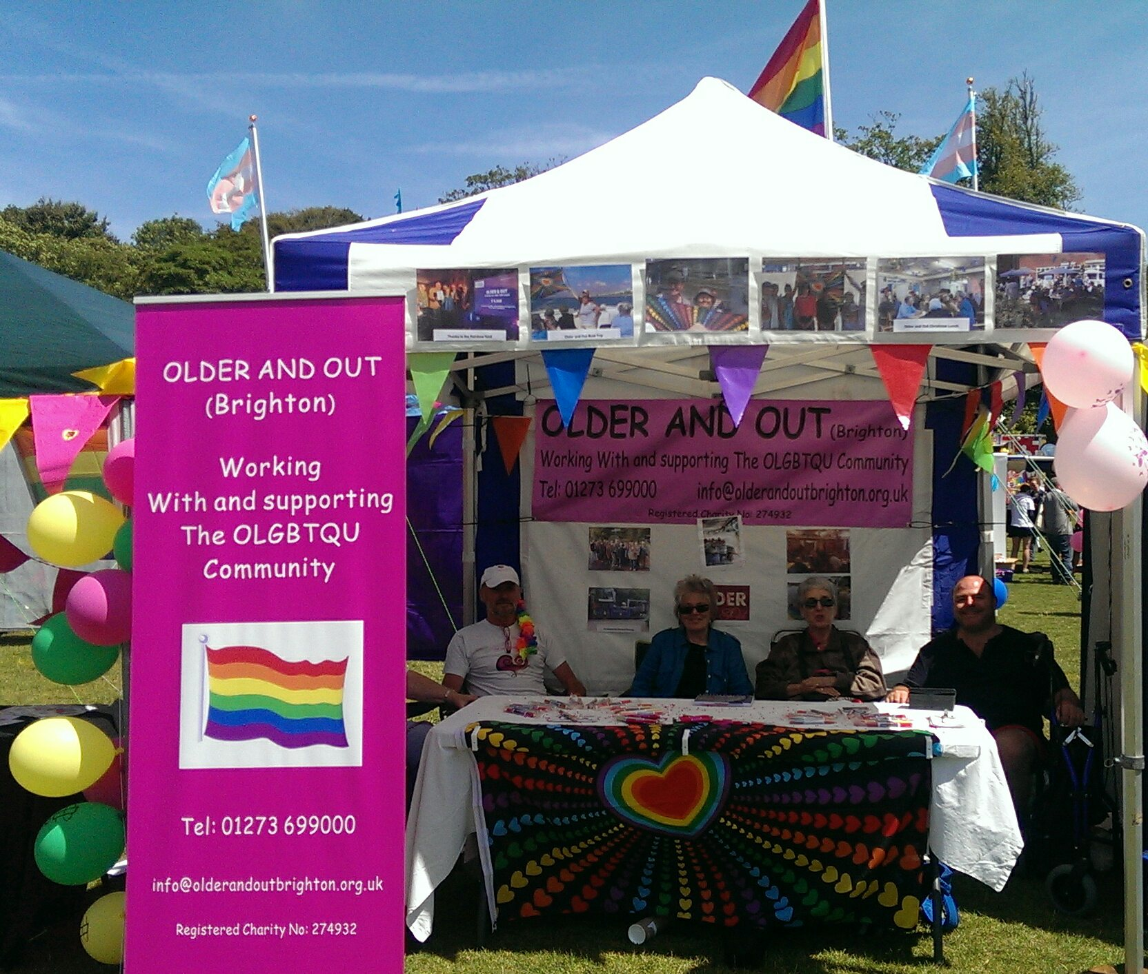 Our Pride Stall